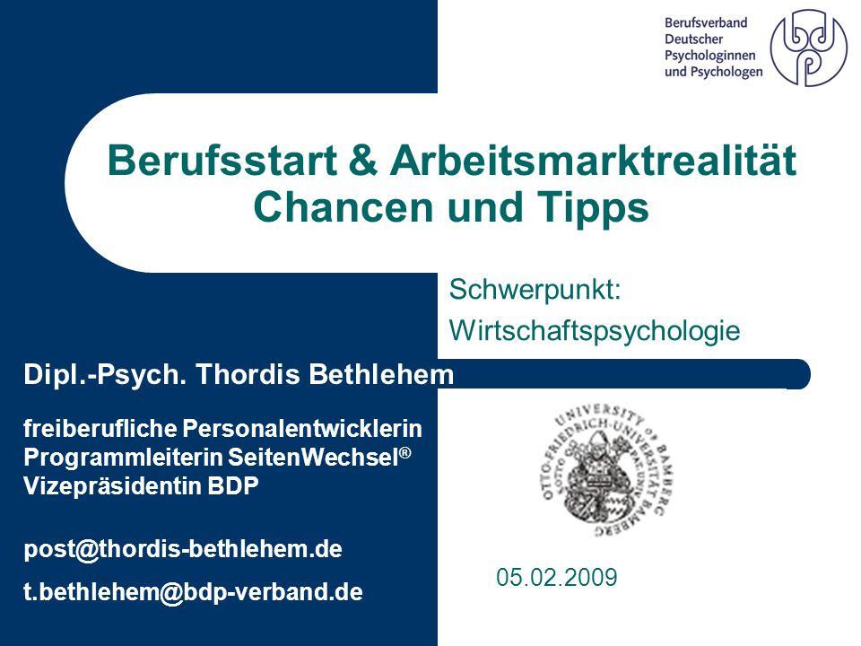 Berufsstart & Arbeitsmarktrealität Chancen und Tipps