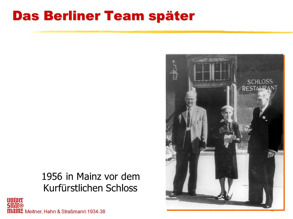 Das Berliner Team später