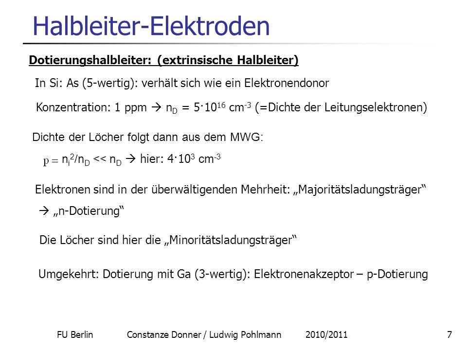 Halbleiter-Elektroden