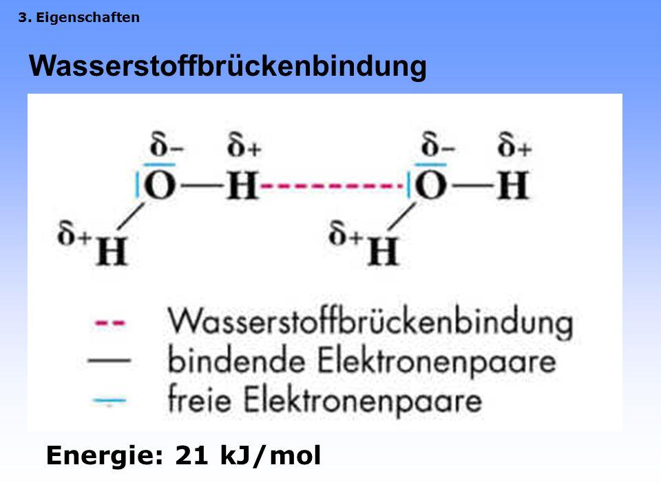 Wasserstoffbrückenbindung