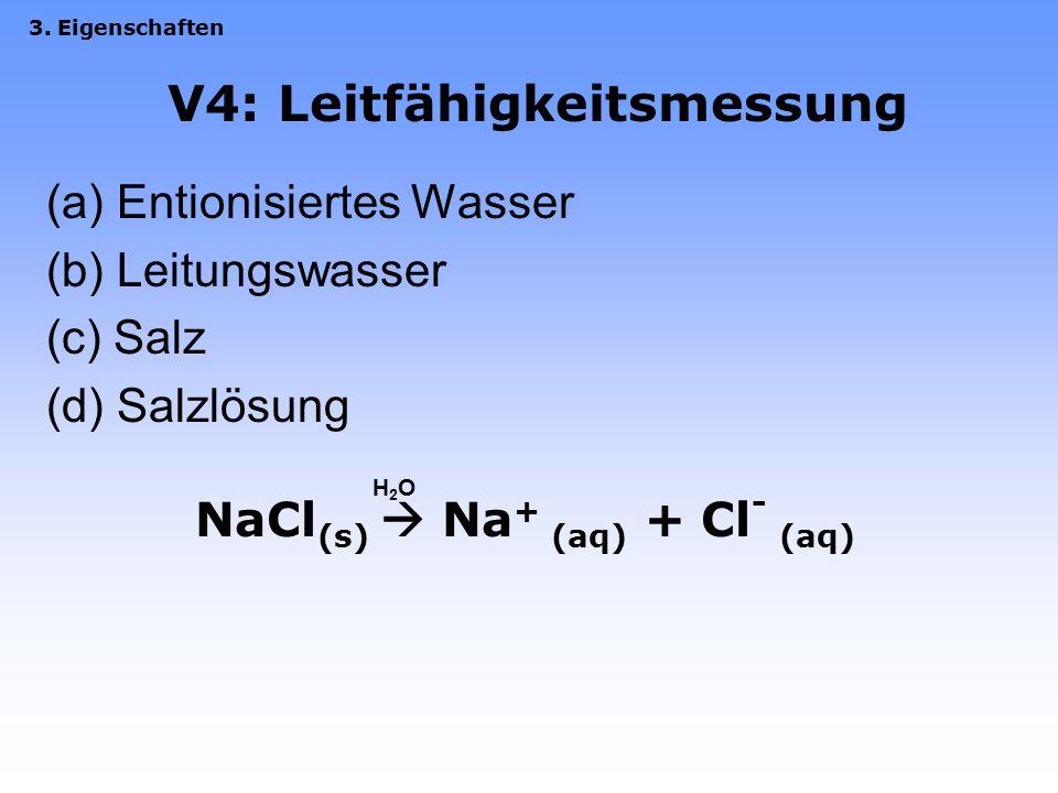 V4: Leitfähigkeitsmessung