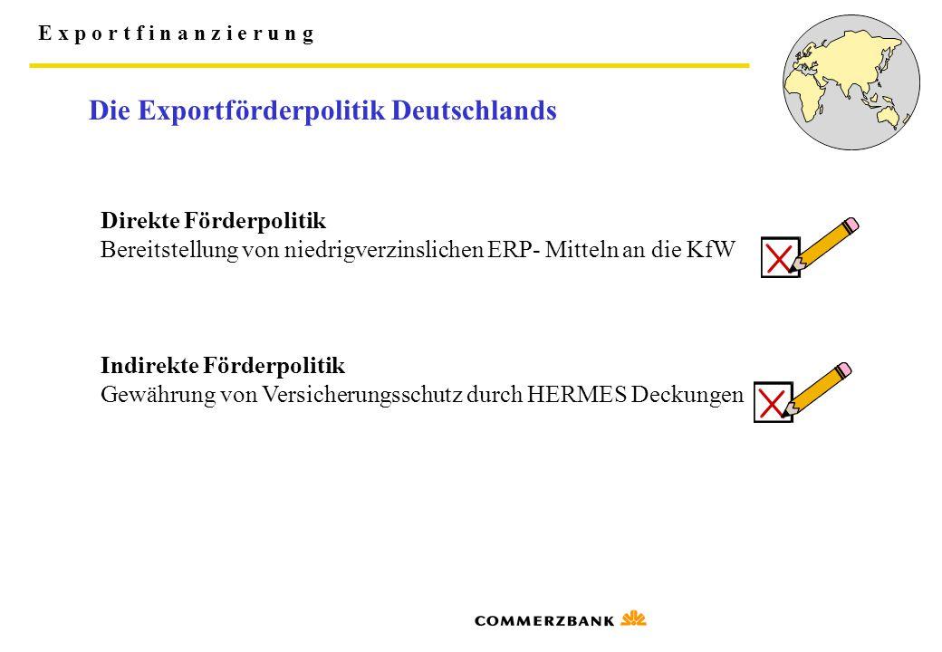 Die Exportförderpolitik Deutschlands