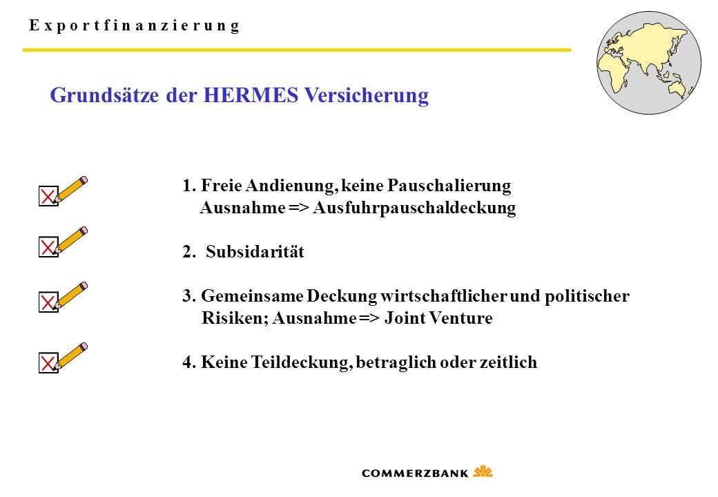 Grundsätze der HERMES Versicherung