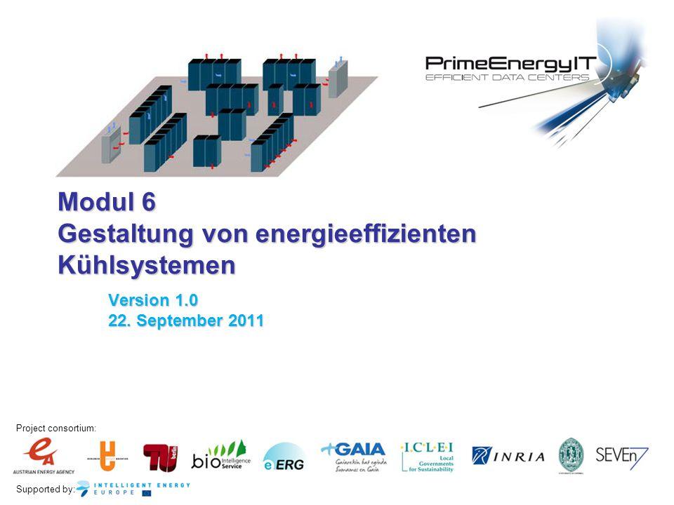 Modul 6 Gestaltung von energieeffizienten Kühlsystemen