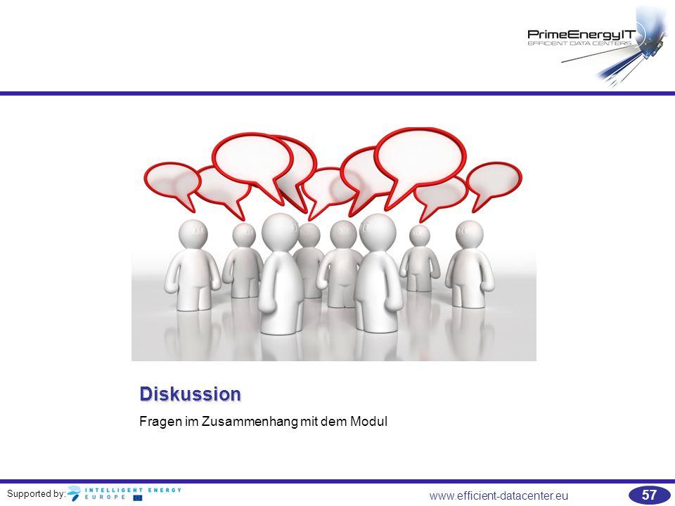 Diskussion Fragen im Zusammenhang mit dem Modul