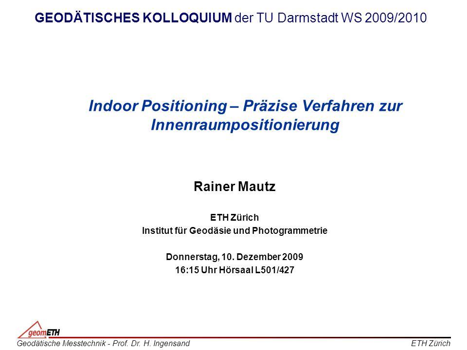 Indoor Positioning – Präzise Verfahren zur Innenraumpositionierung