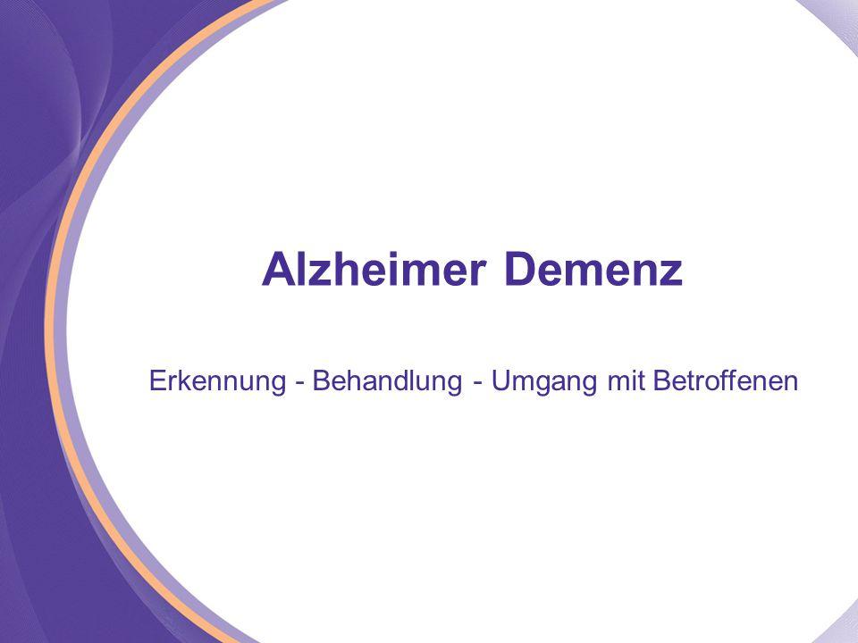 Erkennung - Behandlung - Umgang mit Betroffenen