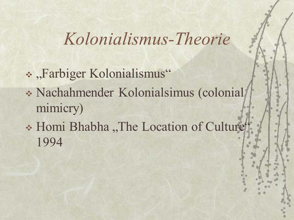 Kolonialismus-Theorie