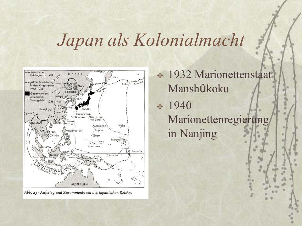Japan als Kolonialmacht