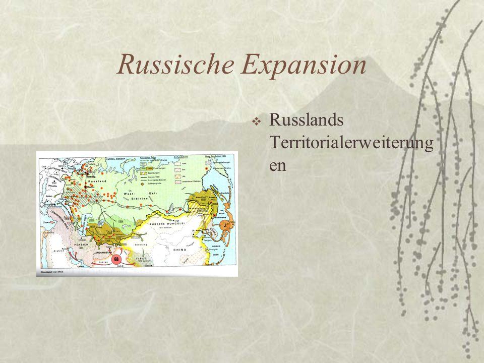 Russische Expansion Russlands Territorialerweiterungen