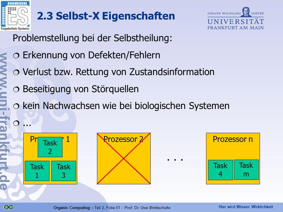 2.3 Selbst-X Eigenschaften