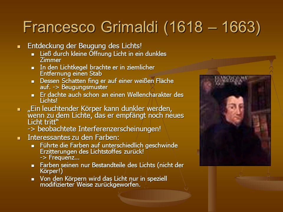 Francesco Grimaldi (1618 – 1663)