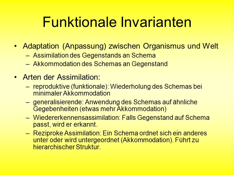 Funktionale Invarianten