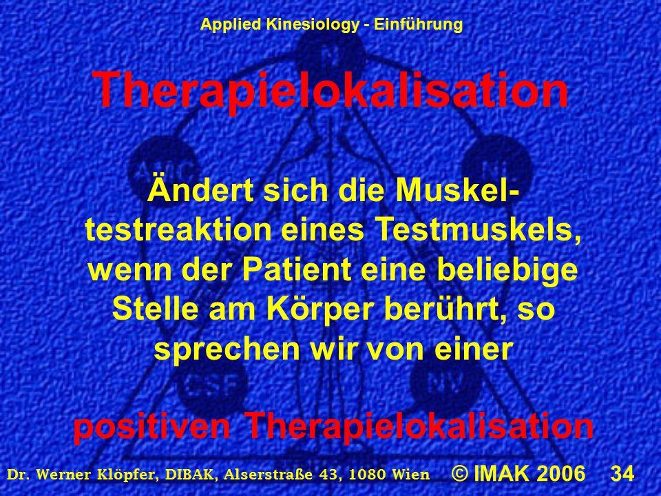 Therapielokalisation