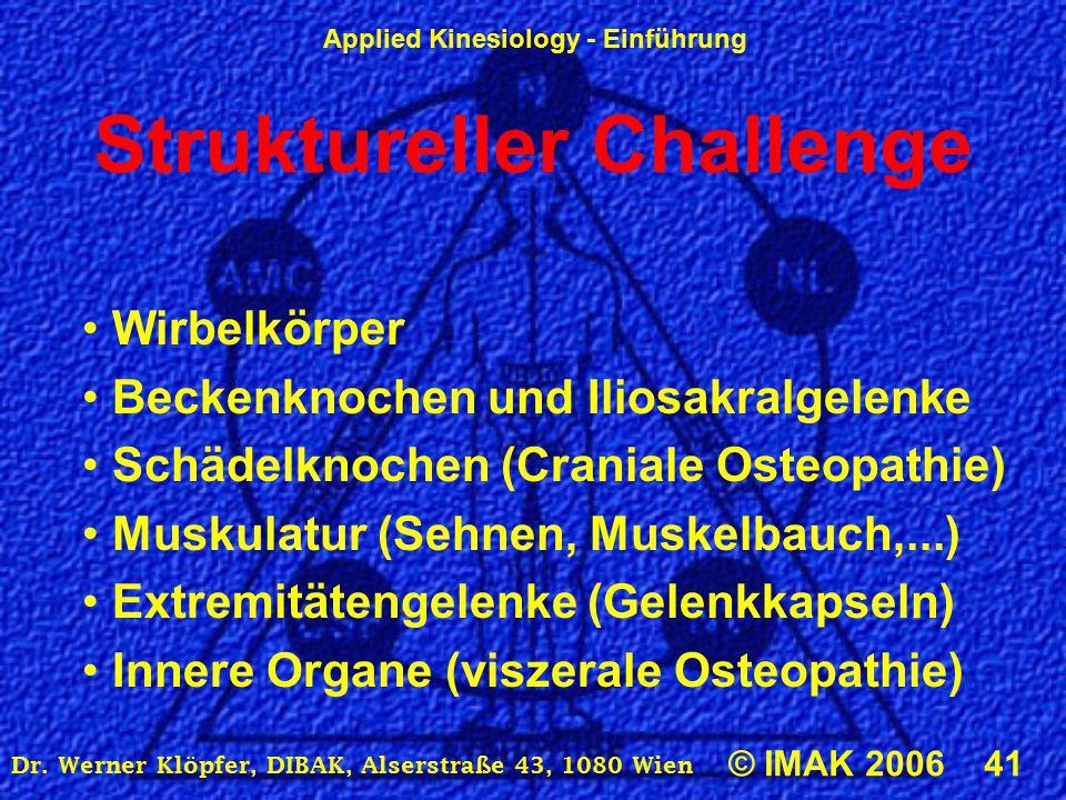 Struktureller Challenge