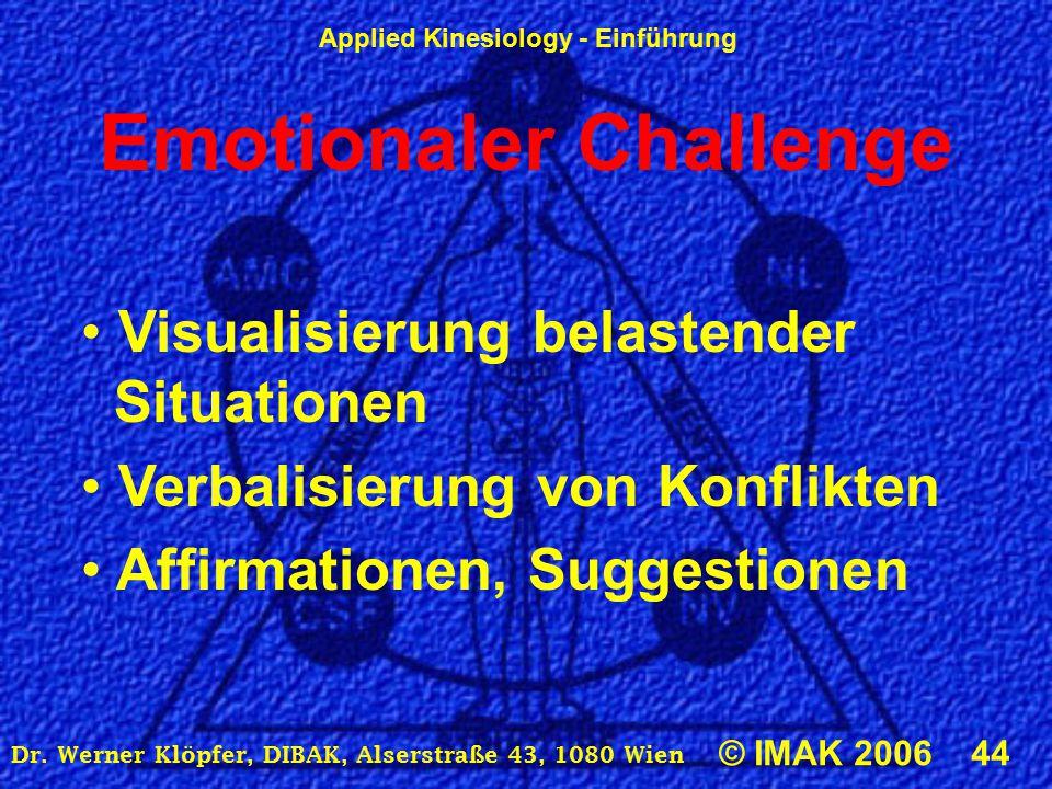 Emotionaler Challenge