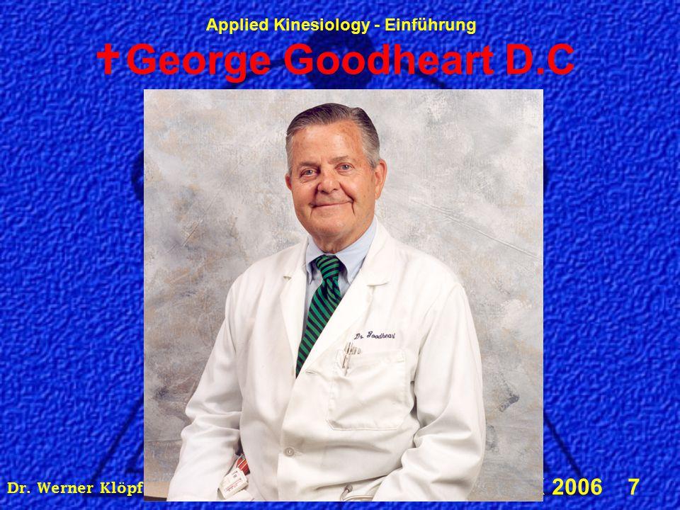 Dr. Werner Klöpfer, DIBAK, Alserstraße 43, 1080 Wien