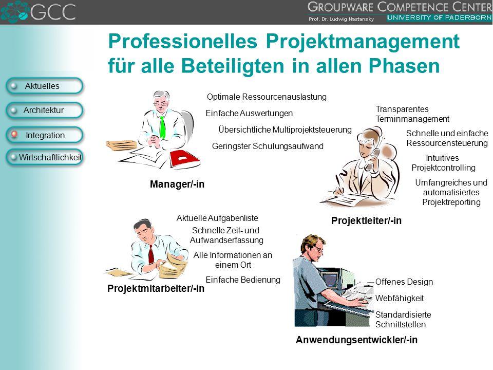Projektmitarbeiter/-in Anwendungsentwickler/-in