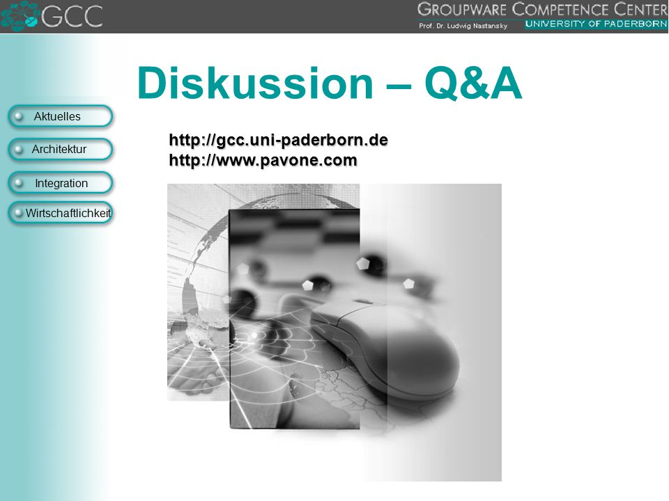 Diskussion – Q&A