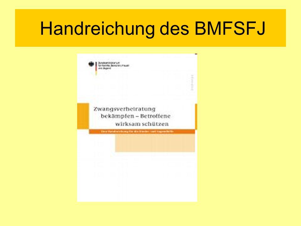 Handreichung des BMFSFJ