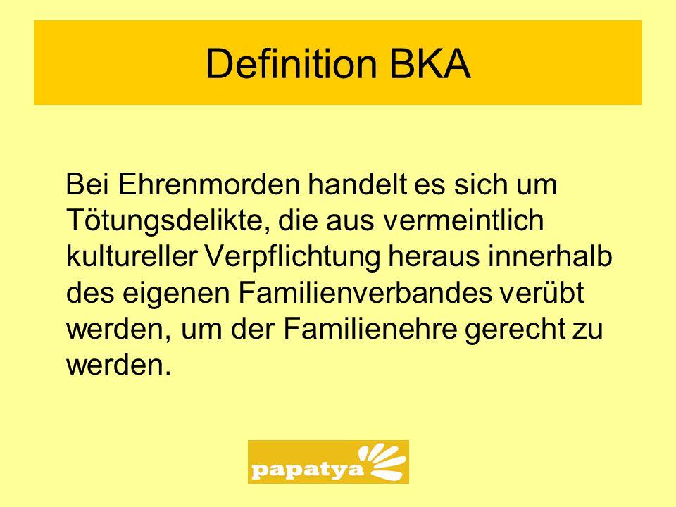 Definition BKA