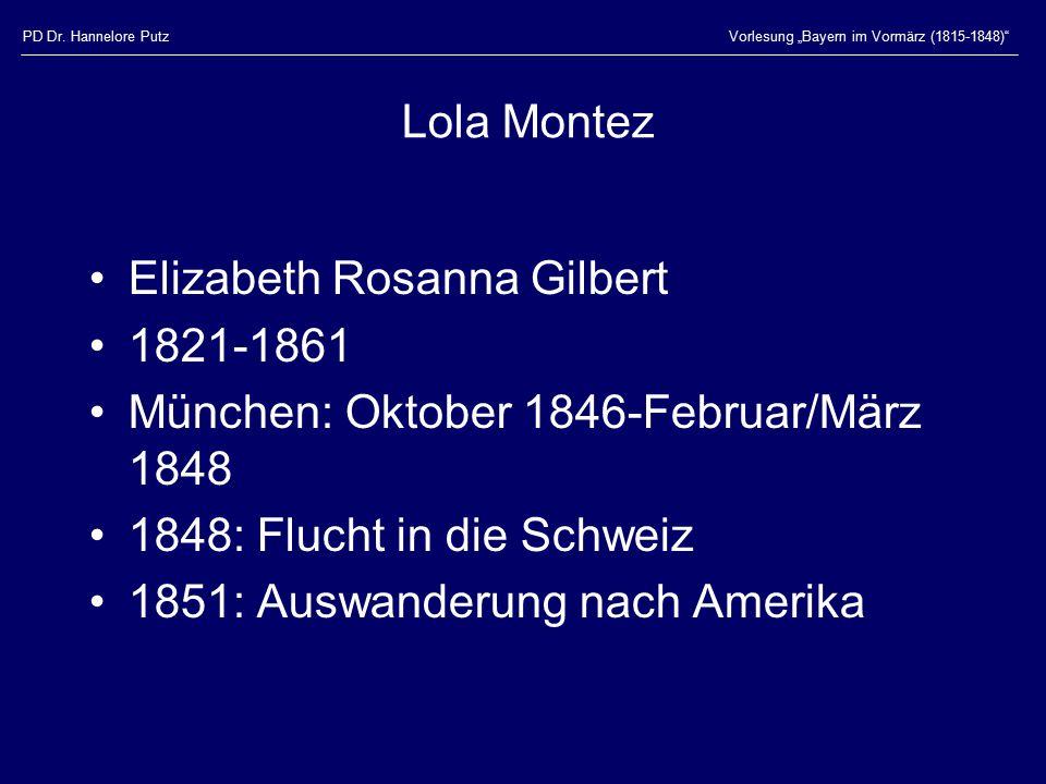 Elizabeth Rosanna Gilbert 1821-1861