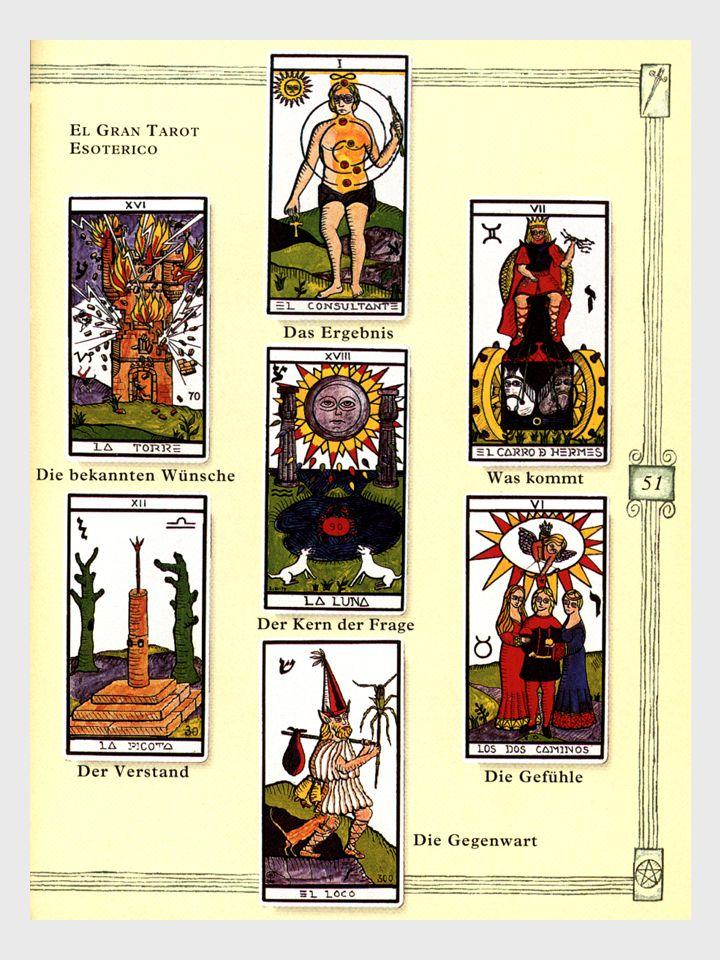 Tarotkarten von Blanche, Besancon, 19. Jahrhundert.