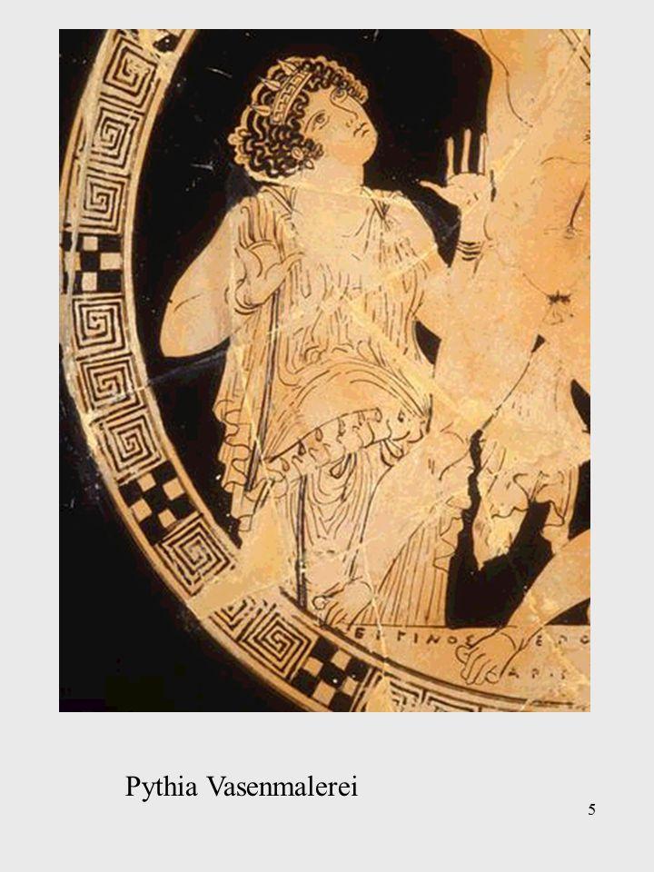Pythia in der Darstellung des 19. Jahrhunderts