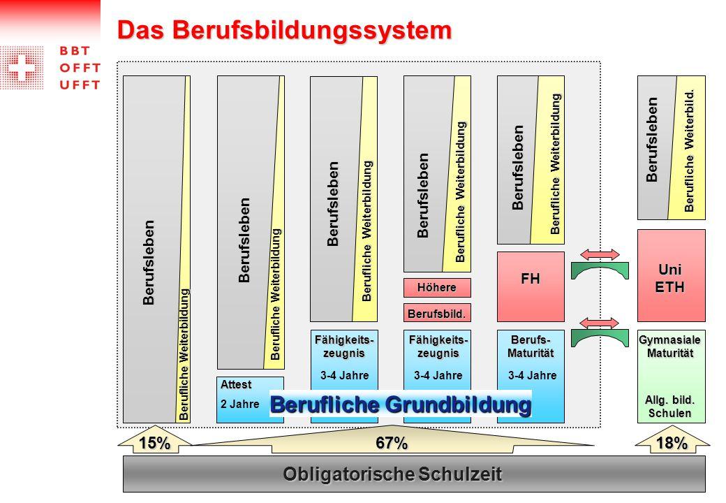 Das Berufsbildungssystem