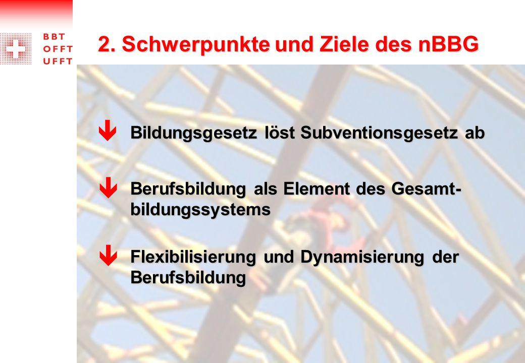    2. Schwerpunkte und Ziele des nBBG