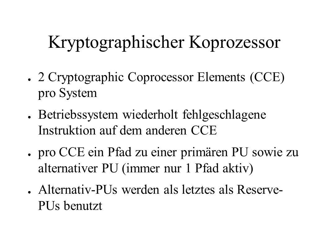 Kryptographischer Koprozessor