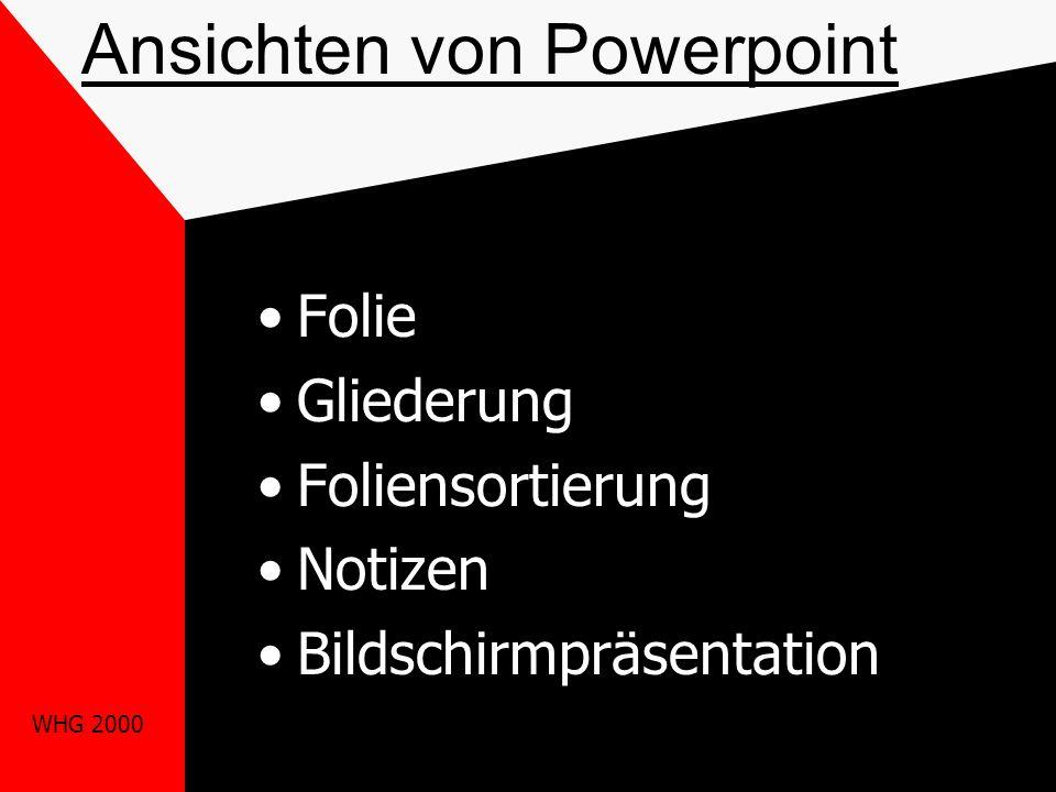 Ansichten von Powerpoint
