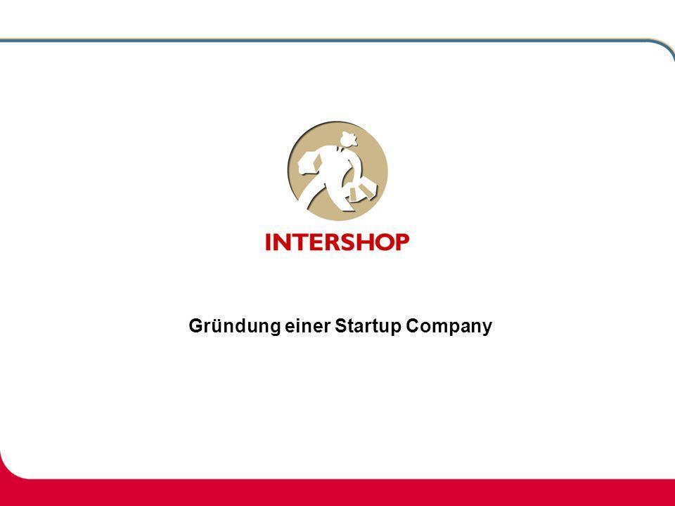 Gründung einer Startup Company