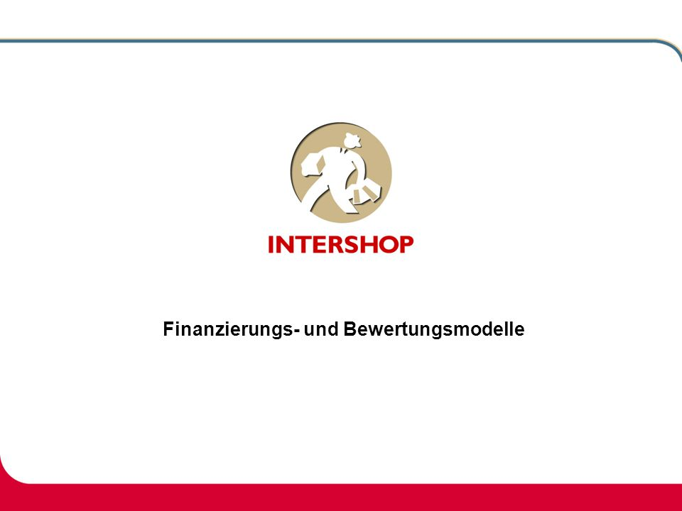 Finanzierungs- und Bewertungsmodelle