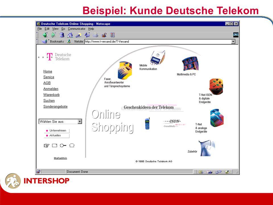 Beispiel: Kunde Deutsche Telekom