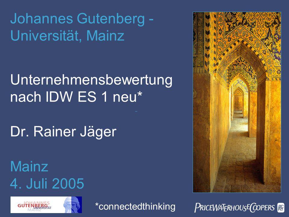 Johannes Gutenberg - Universität, Mainz