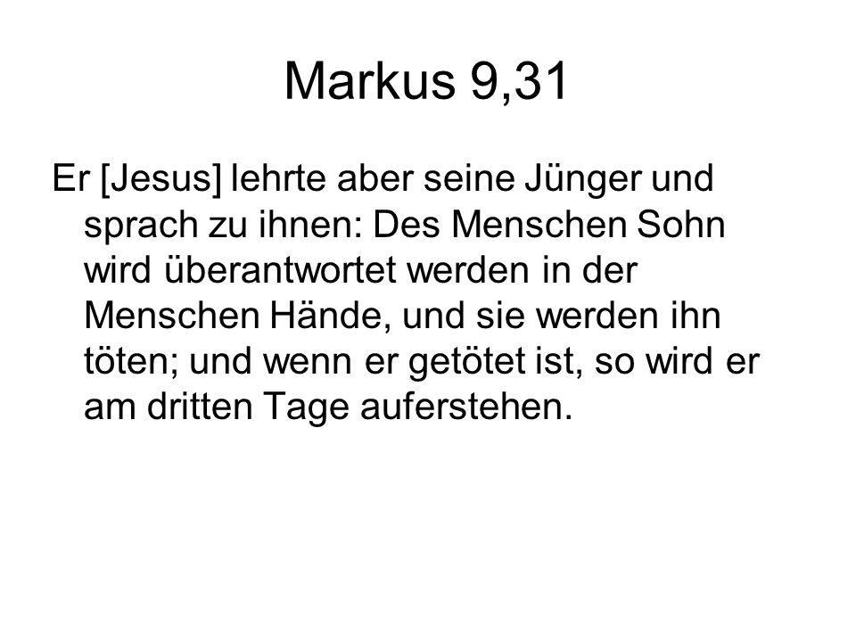 Markus 9,31
