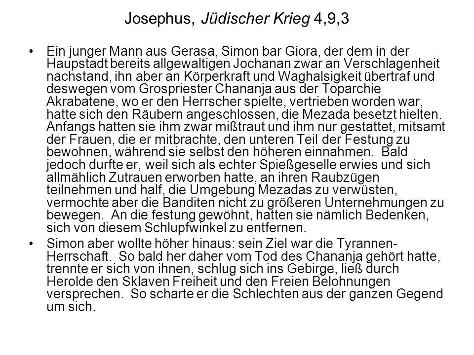 Josephus, Jüdischer Krieg 4,9,3