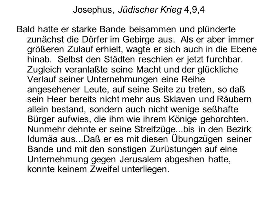 Josephus, Jüdischer Krieg 4,9,4