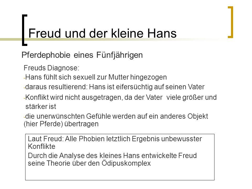Freud und der kleine Hans