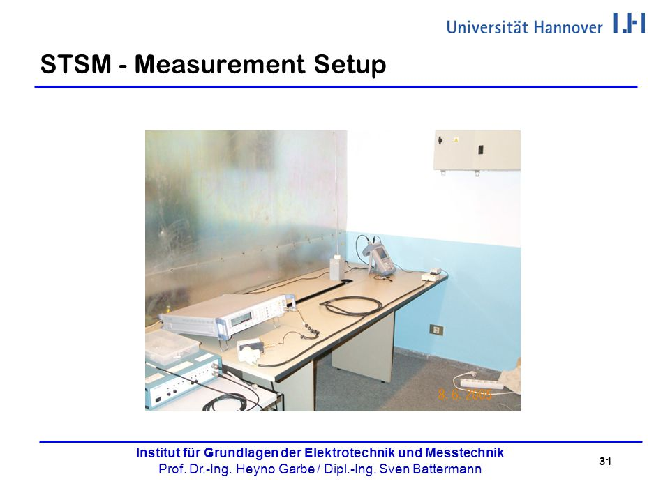 STSM - Measurement Setup