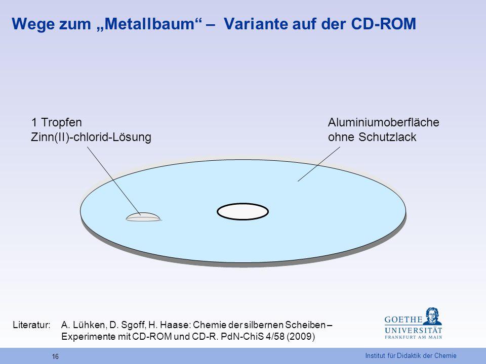 """Wege zum """"Metallbaum – Variante auf der CD-ROM"""