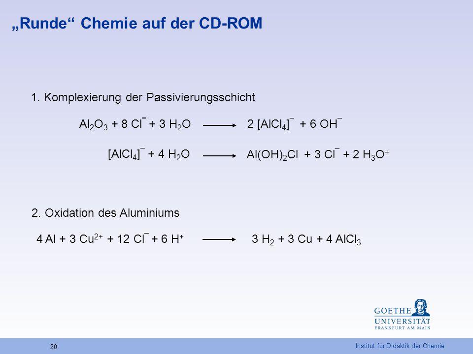 """""""Runde Chemie auf der CD-ROM"""