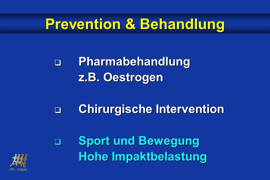 Prevention & Behandlung