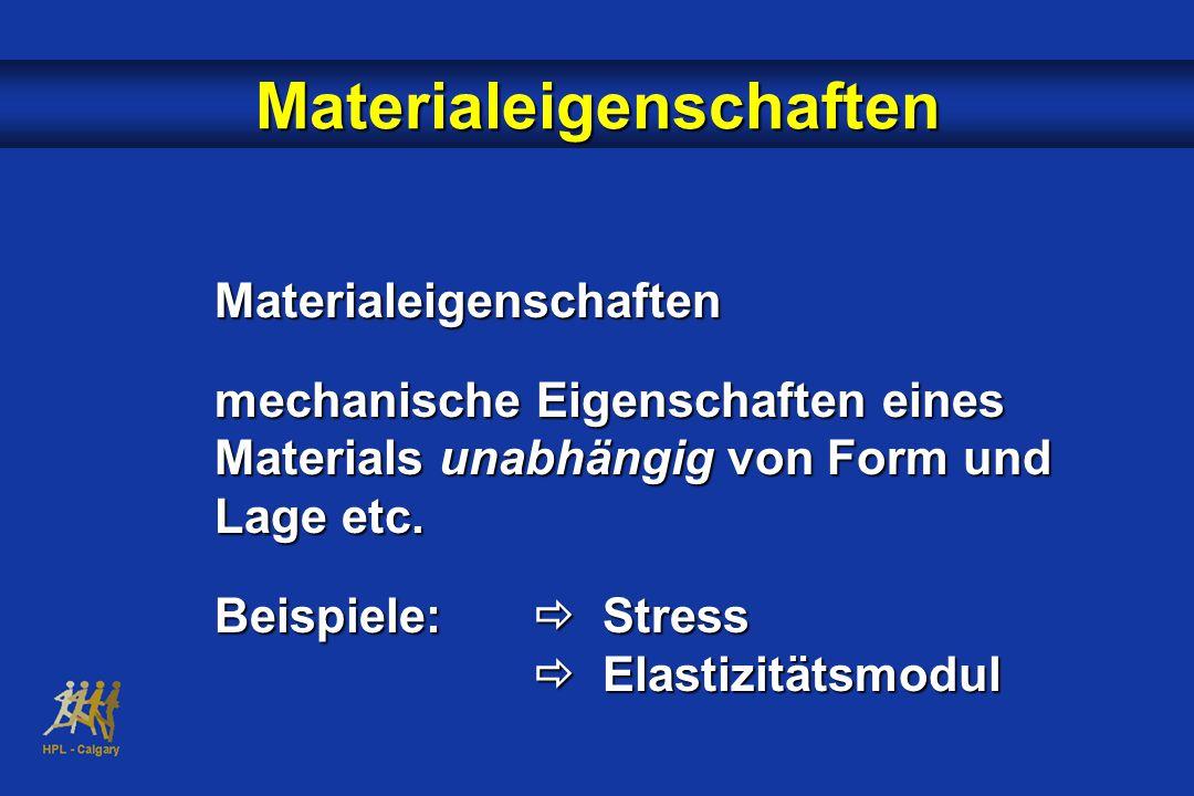 Materialeigenschaften