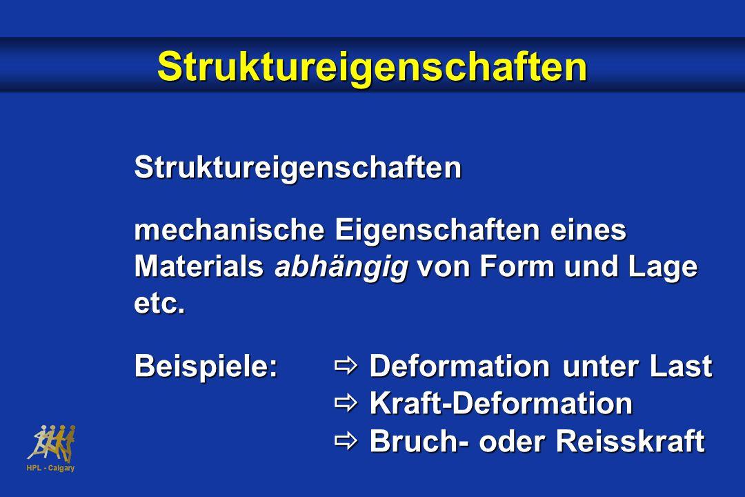 Struktureigenschaften