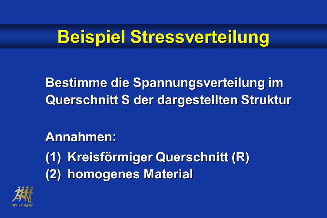 Beispiel Stressverteilung