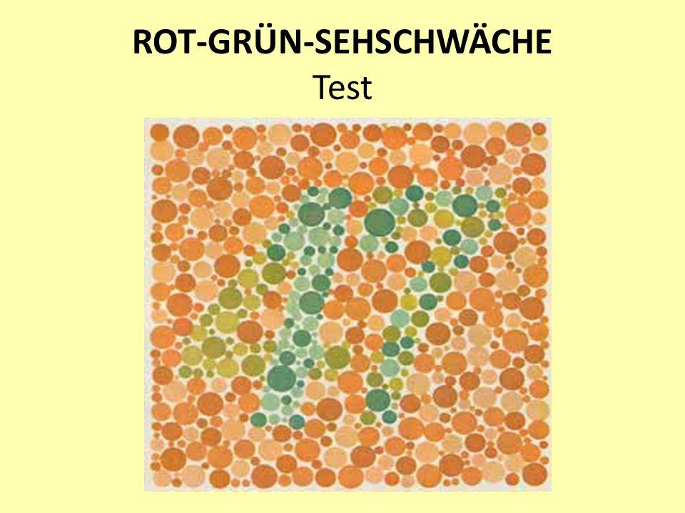 ROT-GRÜN-SEHSCHWÄCHE Test