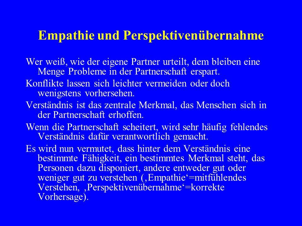 Empathie und Perspektivenübernahme