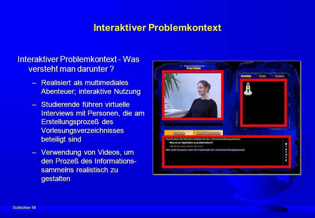Interaktiver Problemkontext